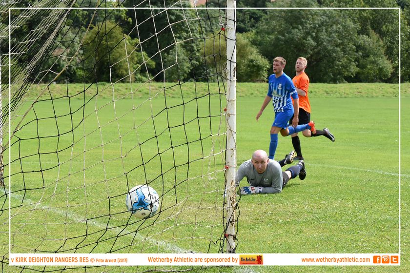 REPORT: Wetherby Athletic Reserves 2 v 3 Kirk Deighton Rangers Reserves