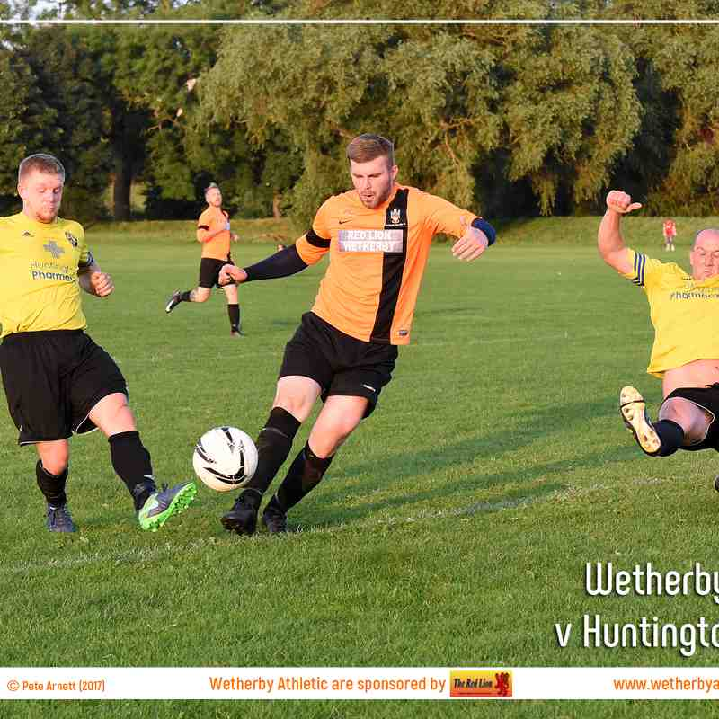 PHOTOS: Wetherby Athletic v Huntington Rovers (25 Jul 17)