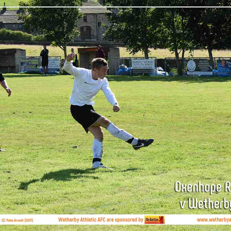 PHOTOS: Oxenhope Recreation v Wetherby Athletic (12th Aug 2017)