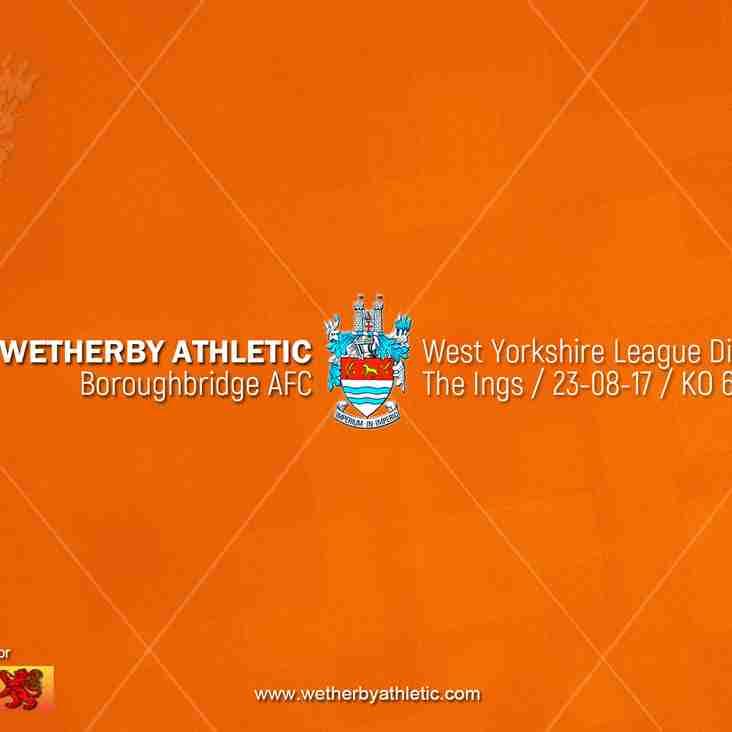 PREVIEW v Boroughbridge AFC