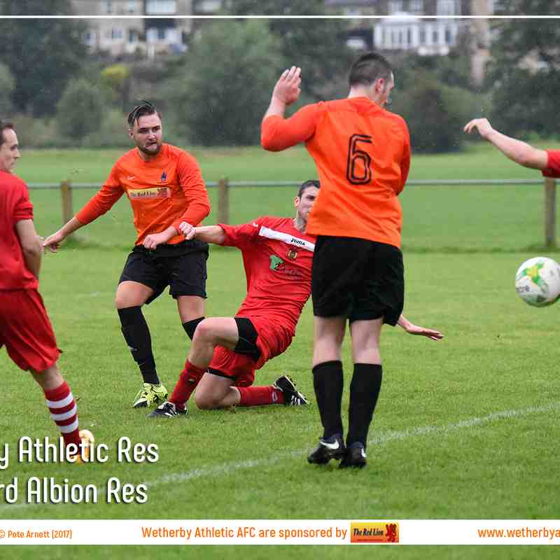PHOTOS: Wetherby Athletic Res v Aberford Albion Res (21st Aug 2017)