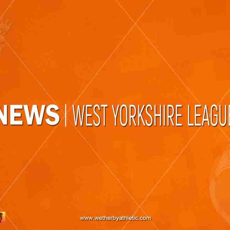 NEWS: West Yorkshire Association Cup Drawn