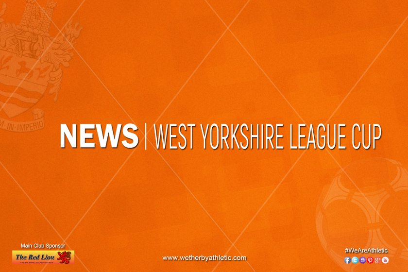 NEWS: West Yorkshire Association Cup Drawn