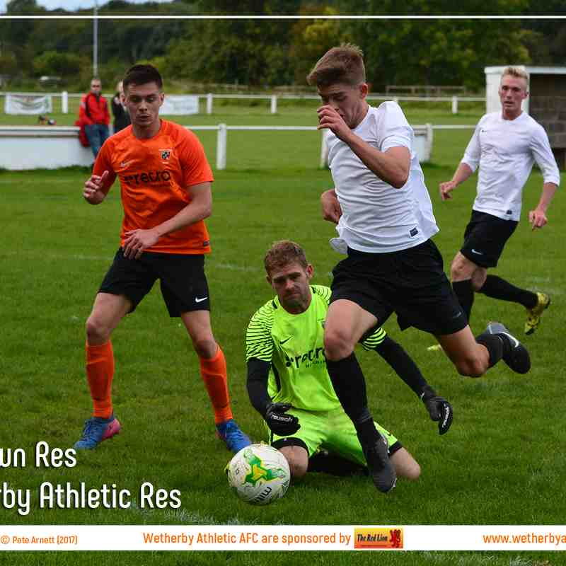 PHOTOS: Otley Town Res v Wetherby Athletic Res (16 Sep 2017)