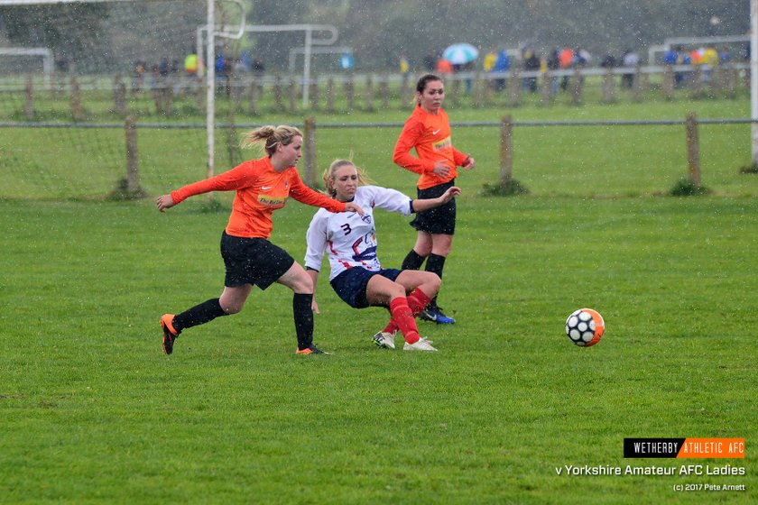 PHOTOS: Wetherby Athletic Ladies v Yorkshire Amateur (17 Sep 2017)