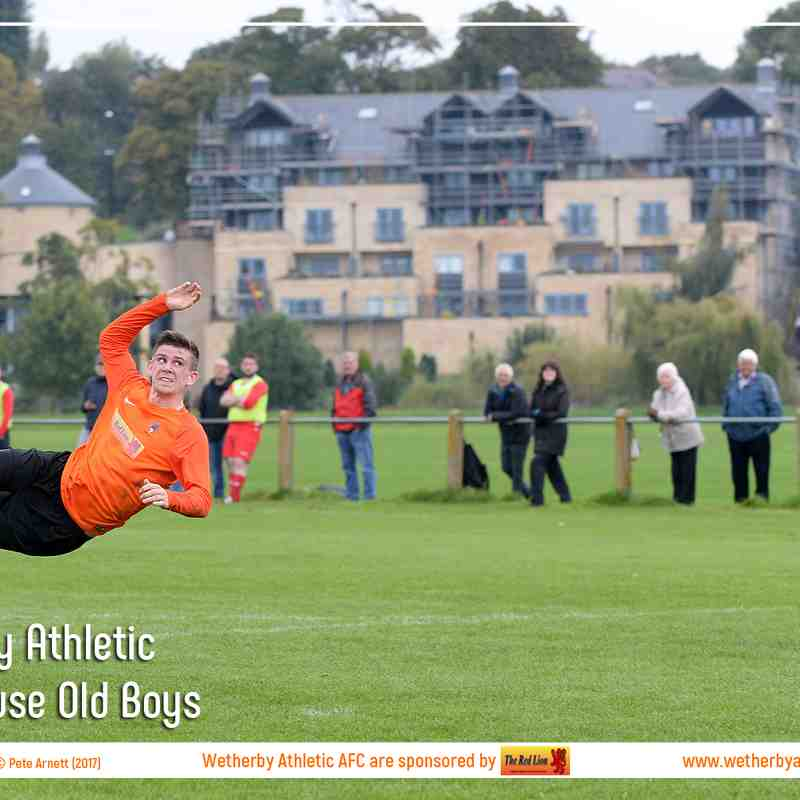 PHOTOS: Wetherby Athletic v Brighouse Old Boys (23 Sep 2017)