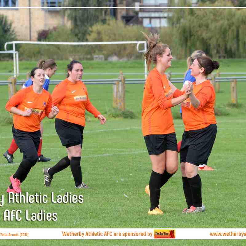 PHOTOS: Wetherby Athletic Ladies v Silsden AFC Ladies (24th Sep 2017)