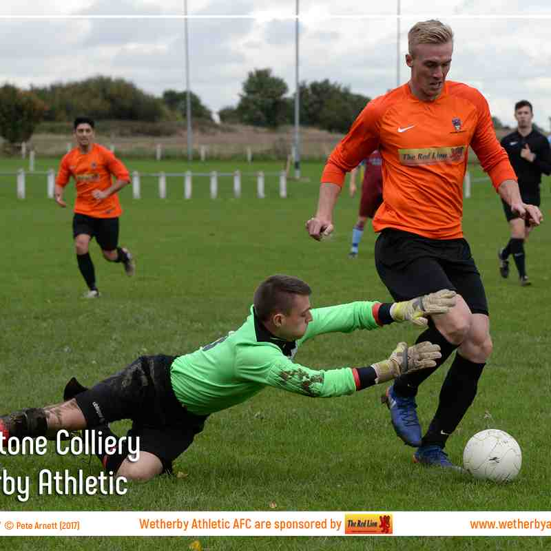 PHOTOS: Featherstone Colliery v Wetherby Athletic (30th Sept 2017)