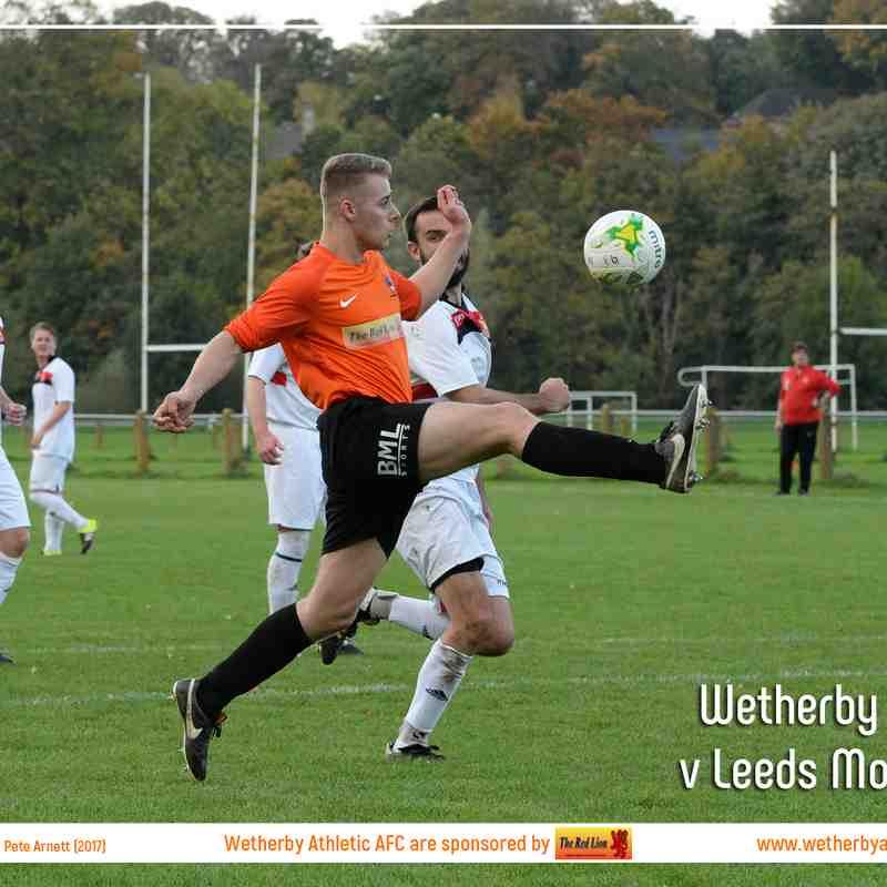 PHOTOS: Wetherby Athletic v Leeds Modernians (14 Oct 2017)