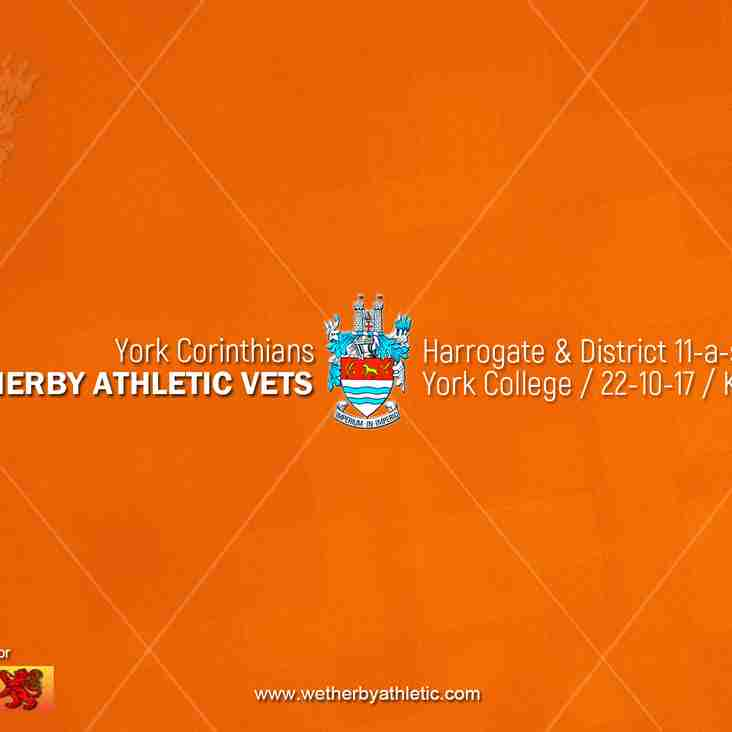 PREVIEW: York Corinthians v Wetherby Athletic Vets