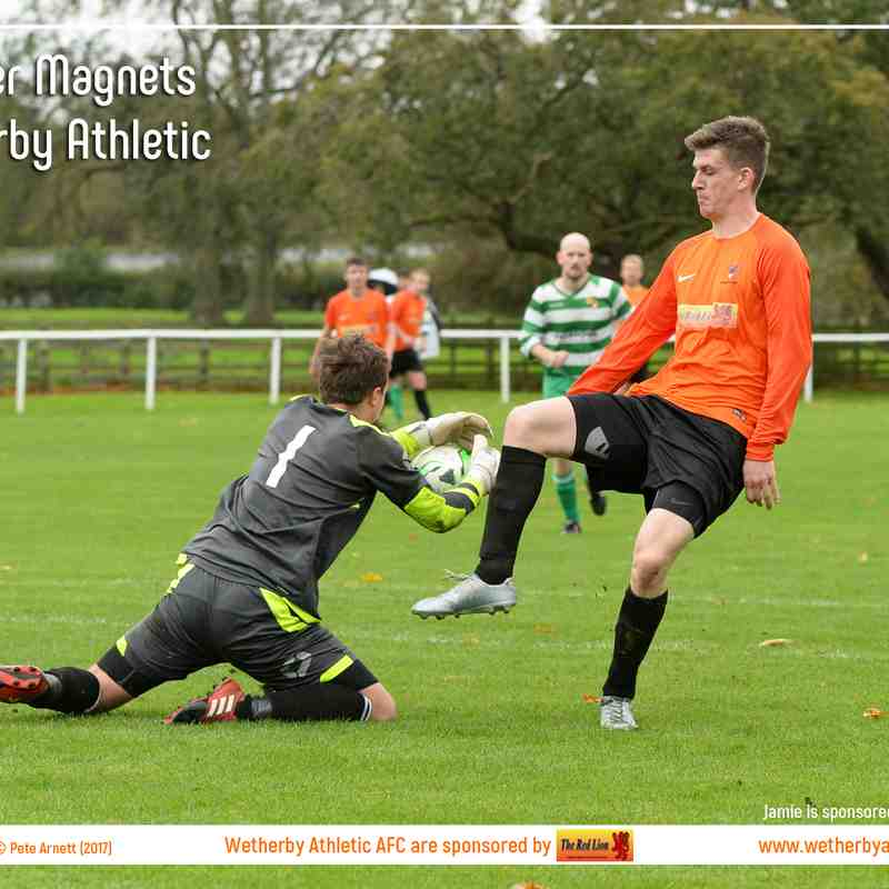 PHOTOS: Tadcaster Magnets v Wetherby Athletic (21 Oct 2017)