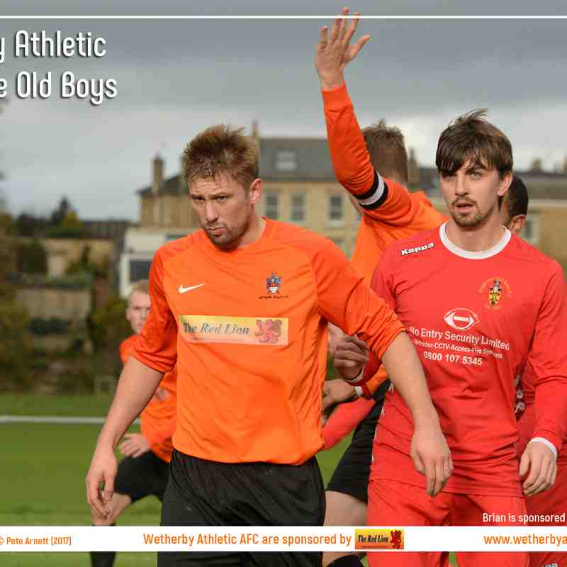 PHOTOS: Wetherby Athletic v Brighouse Old Boys (28 Oct 2017)