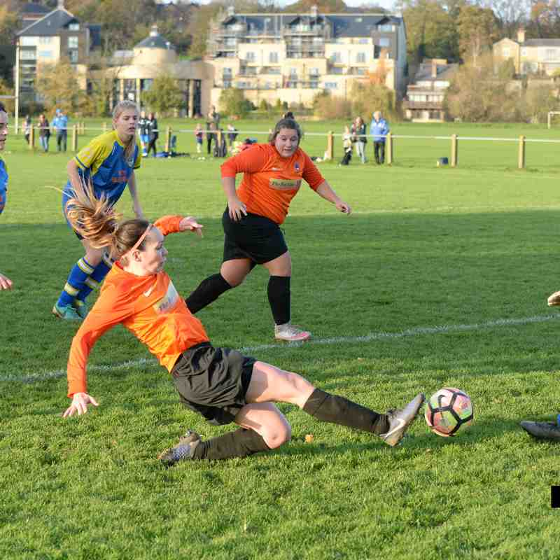 PHOTOS: Wetherby Athletic Ladies v Brayton Belles (29th Oct 2017)