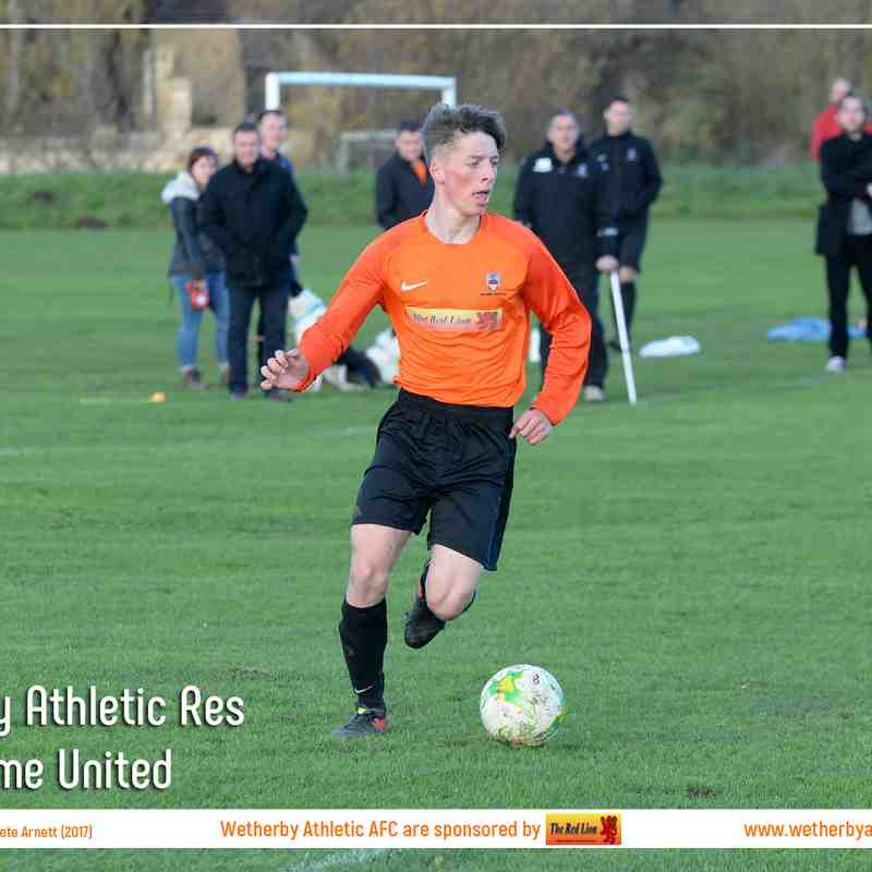 PHOTOS: Wetherby Athletic Res v Denholme United (4 Nov 2017)