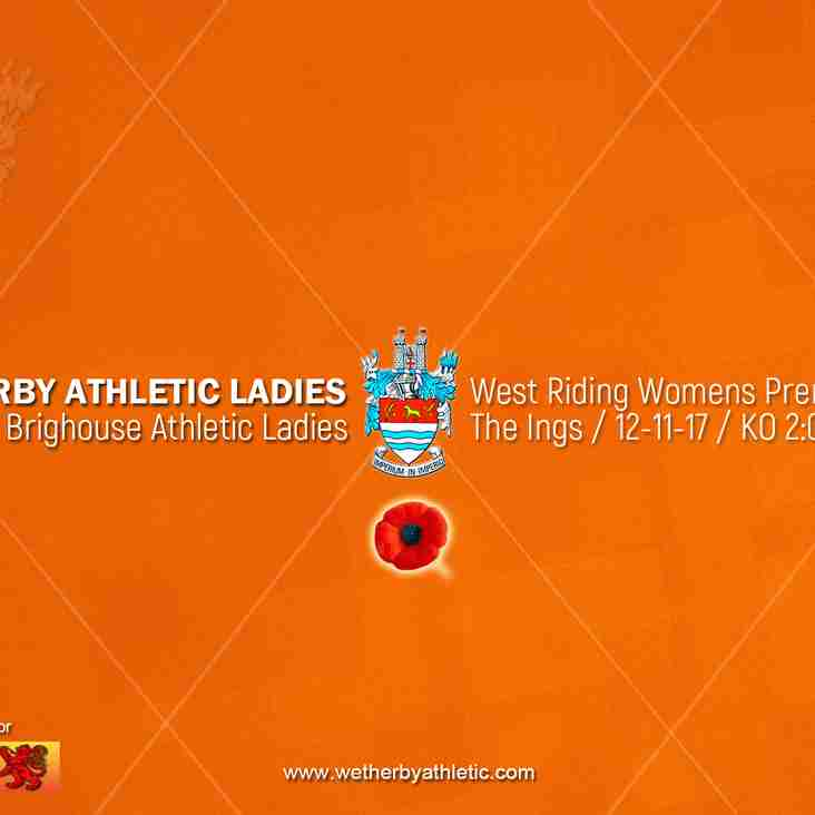 PREVIEW: v Brighouse Athletic Ladies