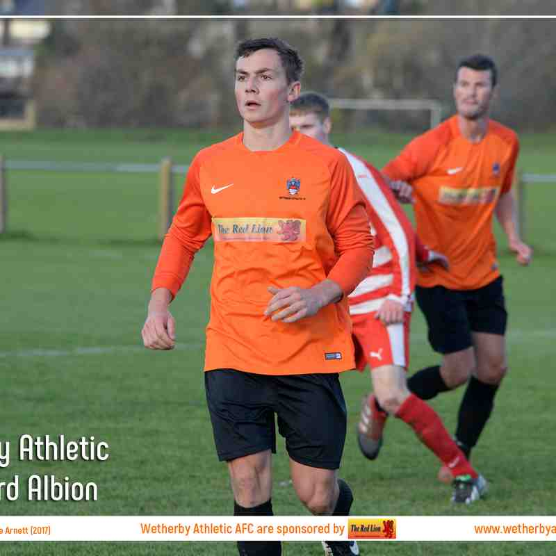 PHOTOS: Wetherby Athletic v Aberford Albion (11 Nov 2017)