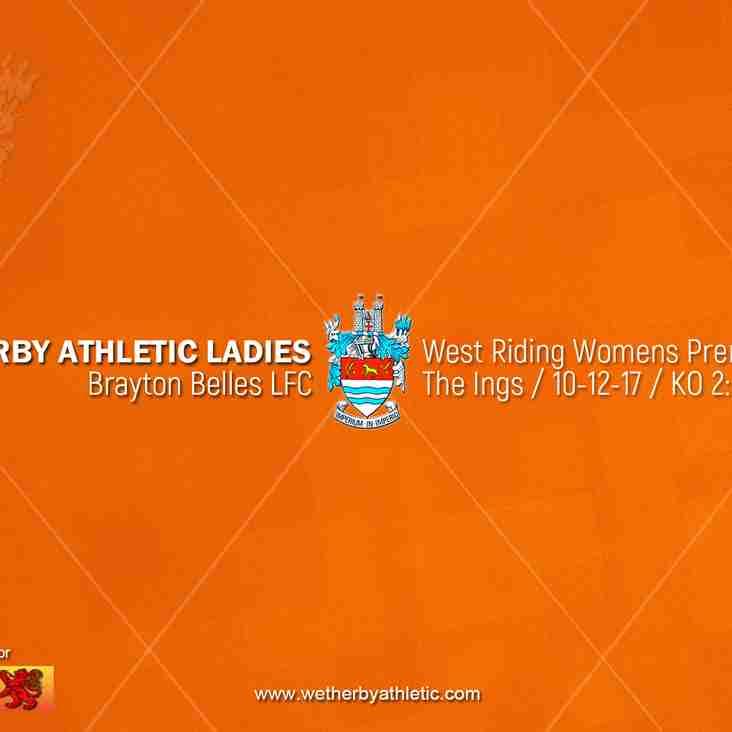 PREVIEW v Brayton Belles LFC