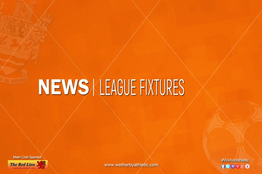 NEWS: New Year Fixtures Known
