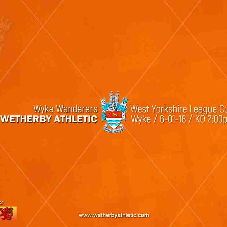 PREVIEW v Wyke Wanderers