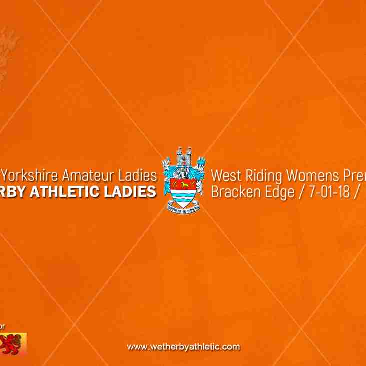 PREVIEW v Yorkshire Amateur Ladies