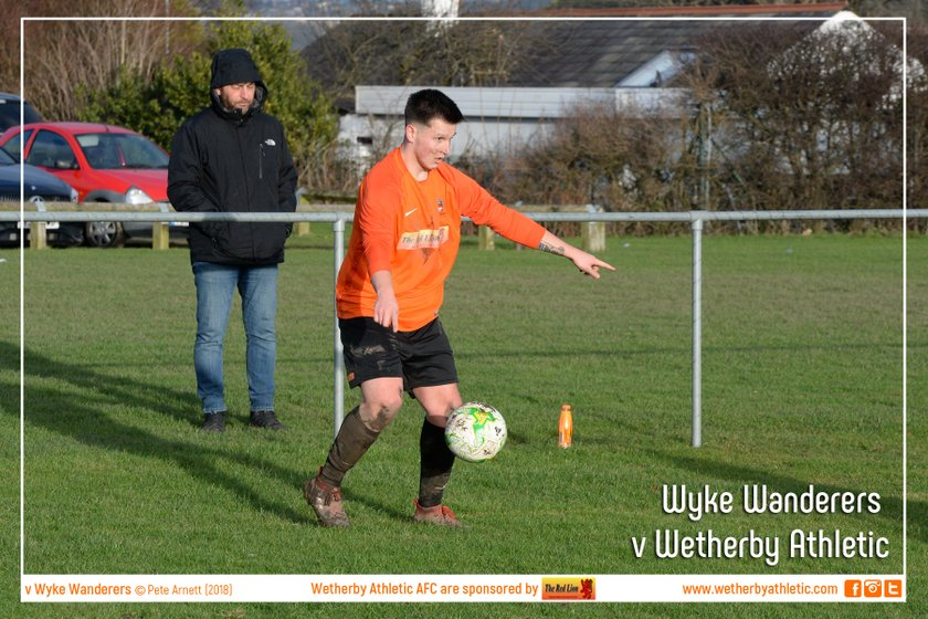 PHOTOS: Wyke Wanderers v Wetherby Athletic (6 Jan 2018)