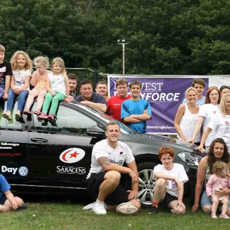 Nat West Rugby Force day 2015