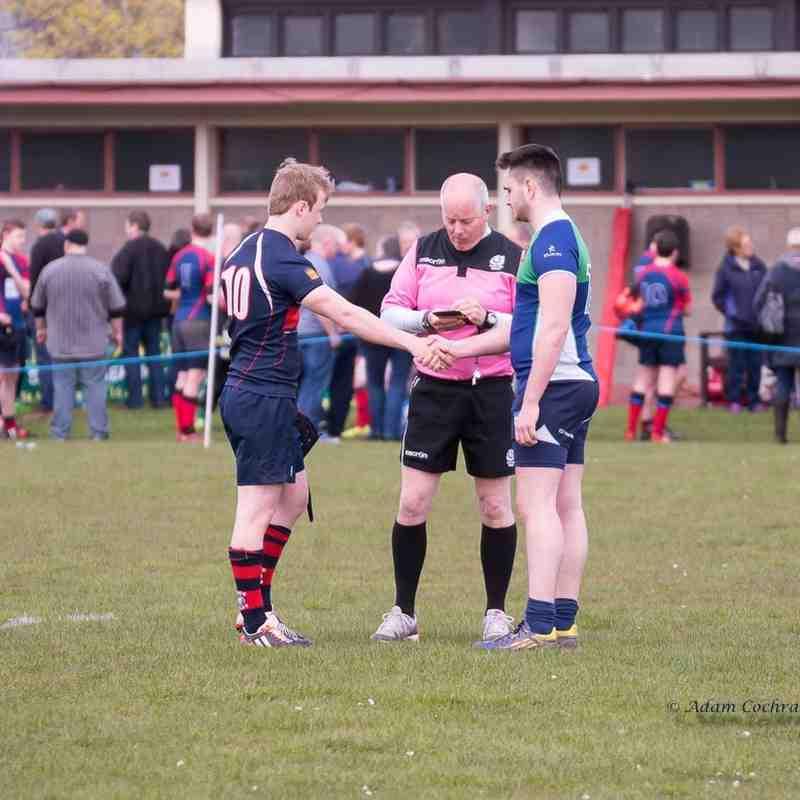 AWYRFC U18 v Dundee U18 Caley Plate Final 24th April 2016