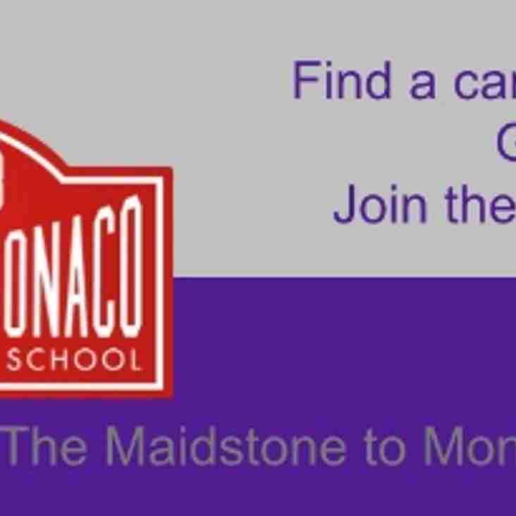 Paul Chambers - Maidstone to Monaco