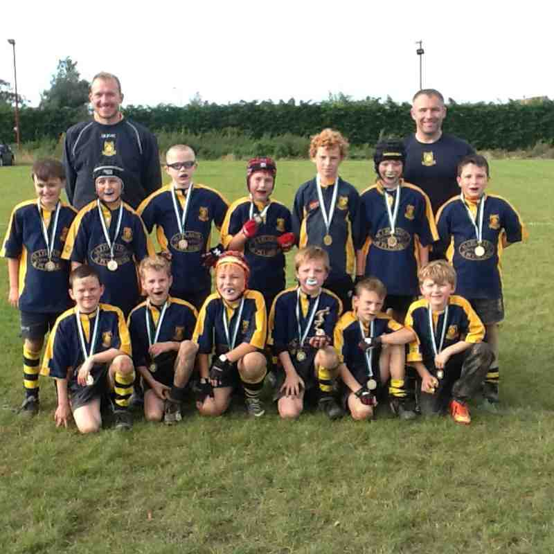 East Kent Under 9s Tournament Ash Oct 2014