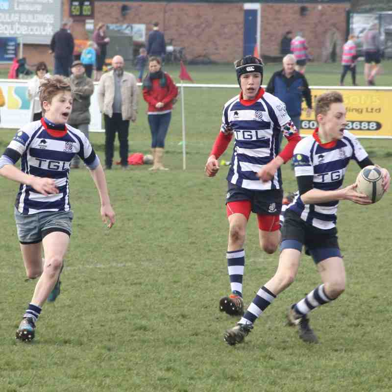 Banbury Bulls win against Old Northamptonians 77 - 0 (Under 13s)
