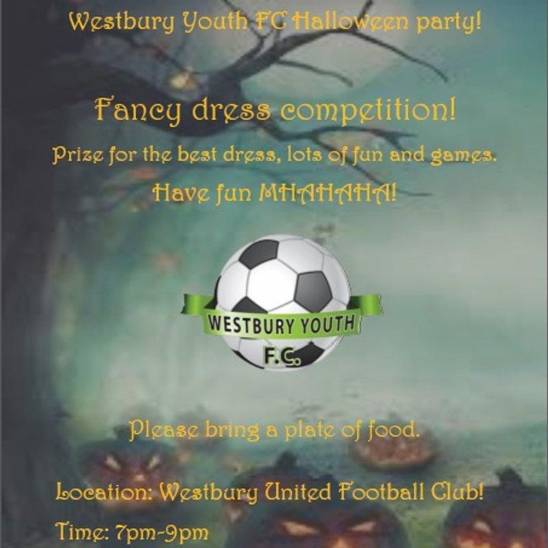Westbury Youth FC Halloween Party