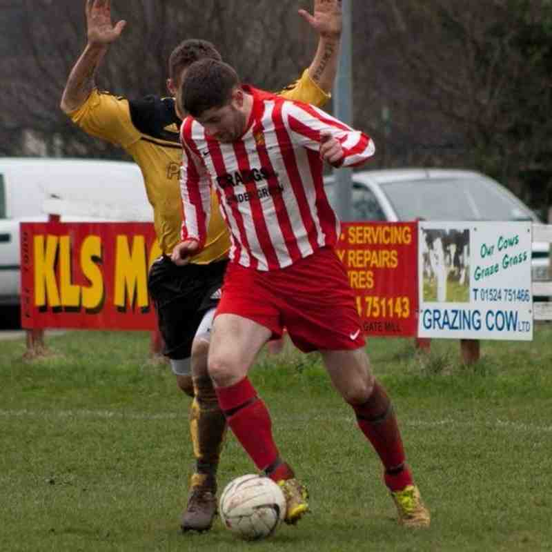 Galgate Away Senior Cup Semi, 14/03/15. Thanks to Tom Greaves