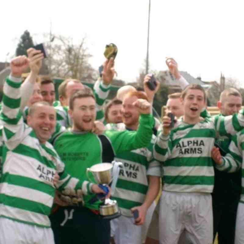 Berks & Bucks FA Sunday Junior Cup Winners 2013