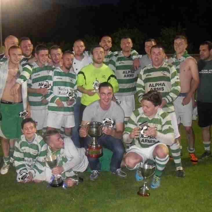 ALPHA LIFT THE TVSFL LEAGUE TROPHY