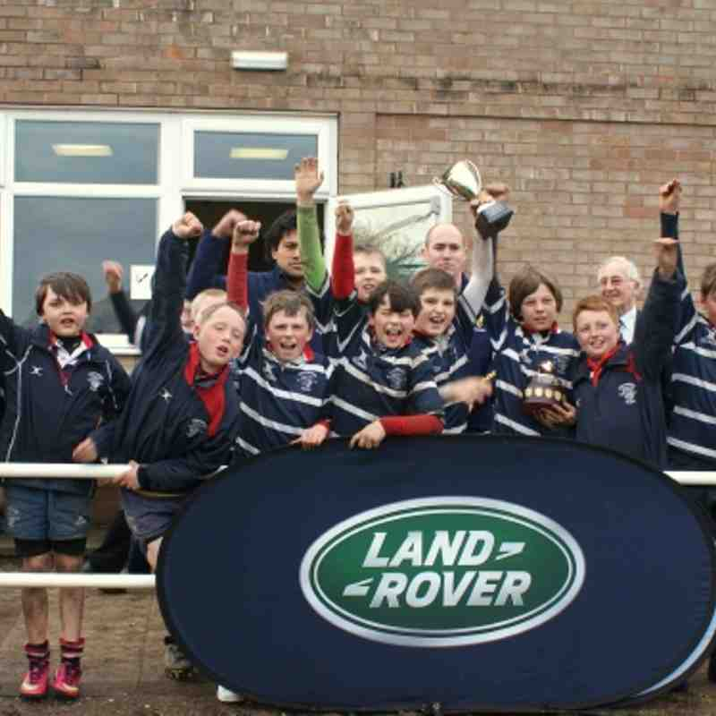 U11's Land Rover DK Gallas Cup Tournament. WINNERS. 14.04.2013