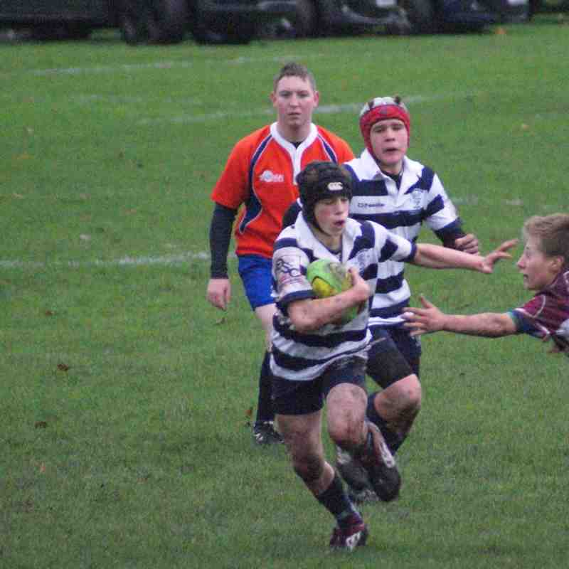 U14's Stourbridge (46) V Newport Salop (0). 29.11.2015