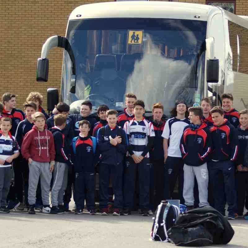 SRFC U14's End of Season International Tour. 23.04.2016. Part 1 Luctonians