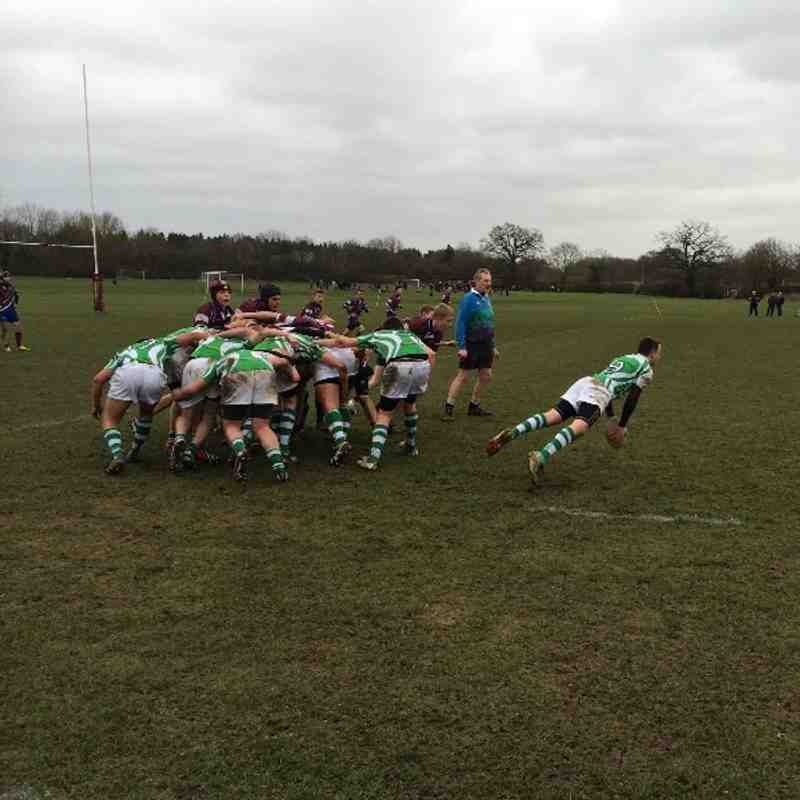 U16s v Sihillians (Away)