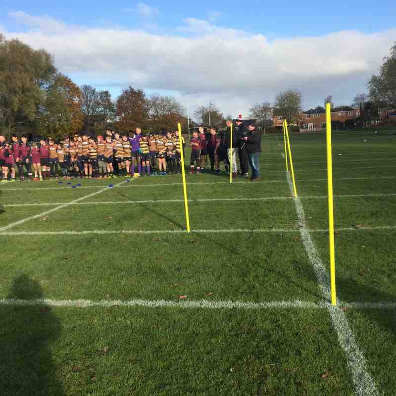 Remembrance Sunday at Ponteland RFC