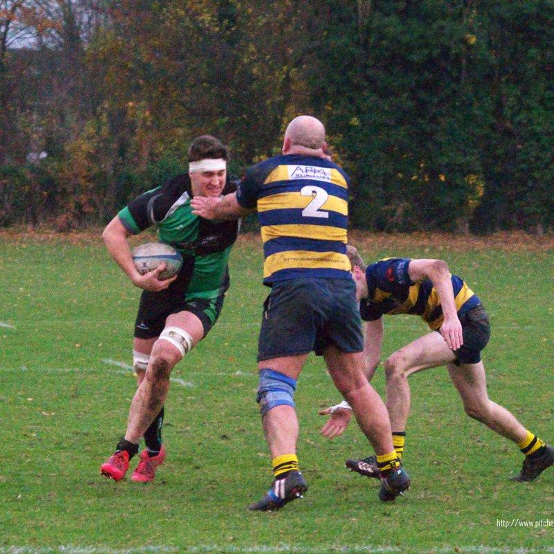 Sittingbourne 1st XV v NAGRFC  26/11/16