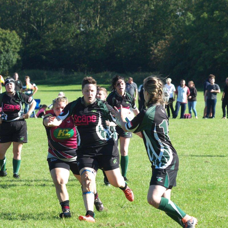 NAGRFC Ladies v Cranbrook RFC Ladies 16-09-18