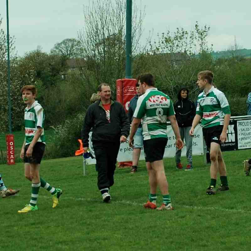 Wells U16 v Chew Valley 26.04.15