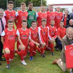 Selby Town 1-4 Hartlepool United XI