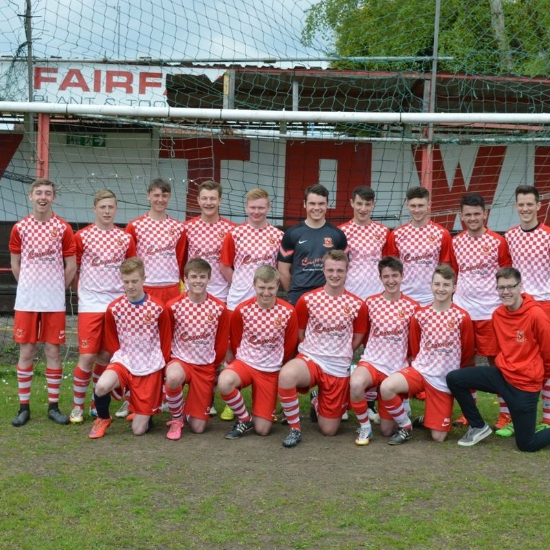 Selby Town U18s  lose to GARFORTH VILLA & ALBION FC 5 - 2