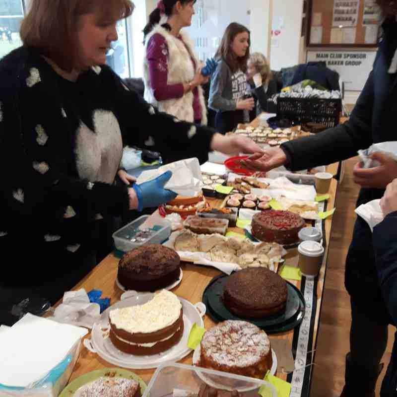 Under 15's cake sale 15/1/17