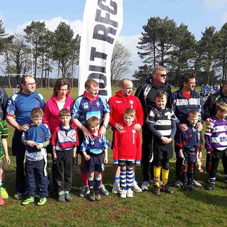 Who's coming to our Annual Kingswood Mini's Rugby Festival in April?