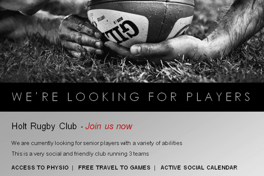 We're looking for Senior Players