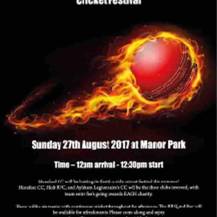 Horsford Cricket Club Super 6 Cricket Festival