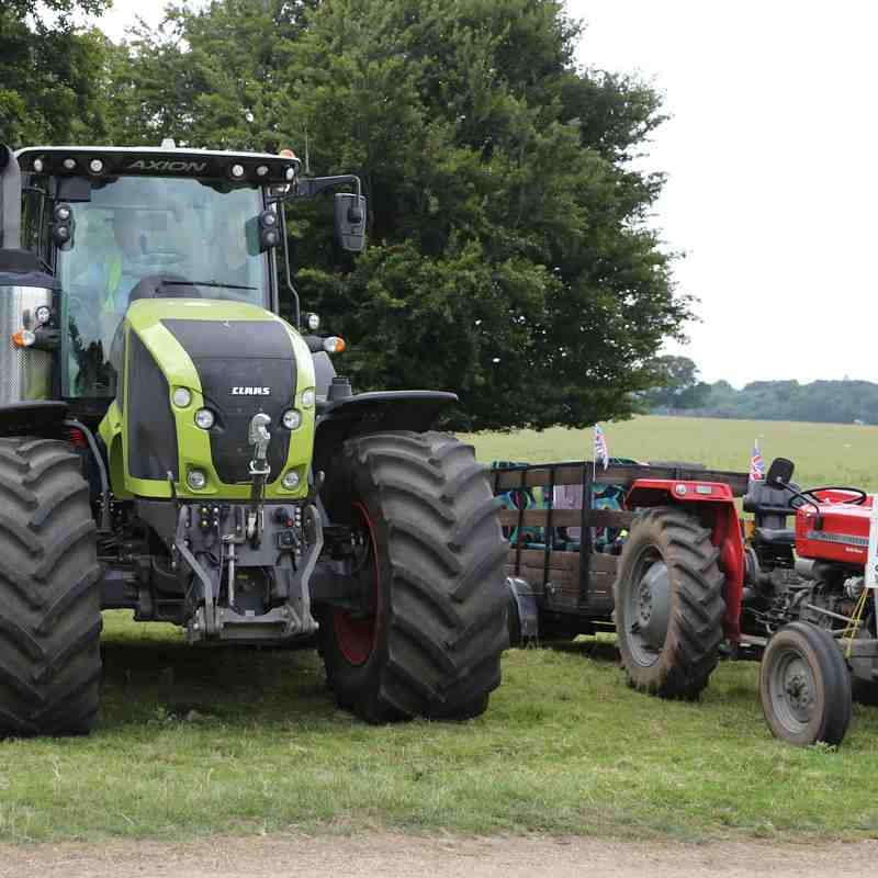 Holt Dementia support Group Tractor Run 9 July 2017
