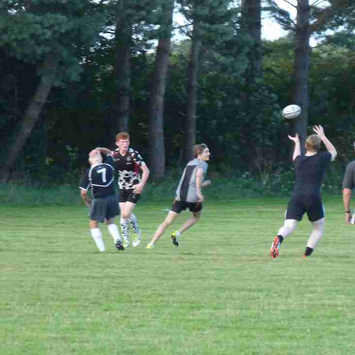Touch Rugby continues at Holt all through the summer